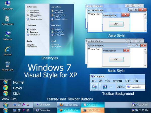 Windows XP Theme 17