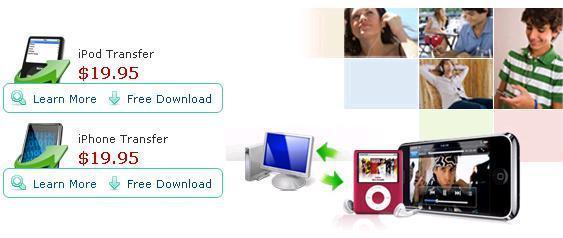 Aimersoft iPod iPhoneTransfer