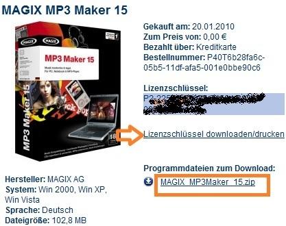 MagixMP3Maker