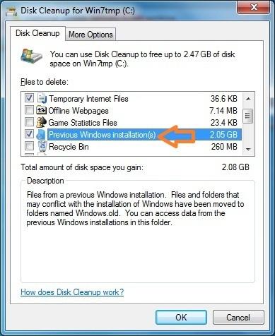 How to Delete Windows.old