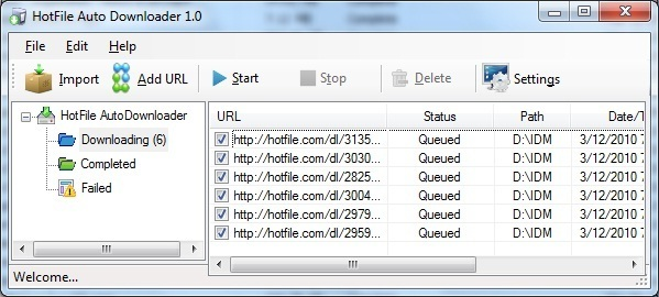HotFile AutoDownloader