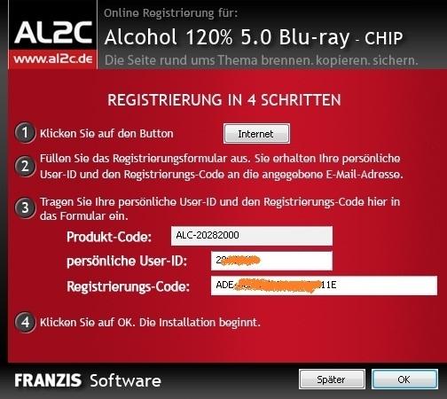 Alcohol 120% Bluray Edition