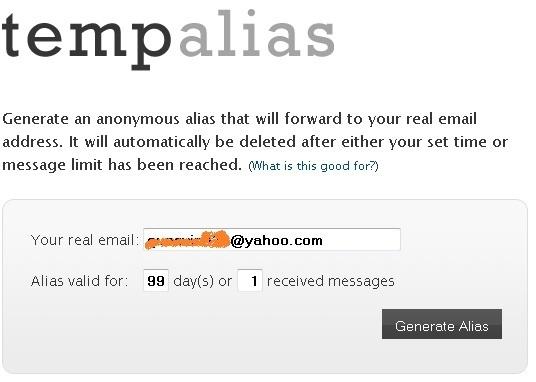 TempAlias.com
