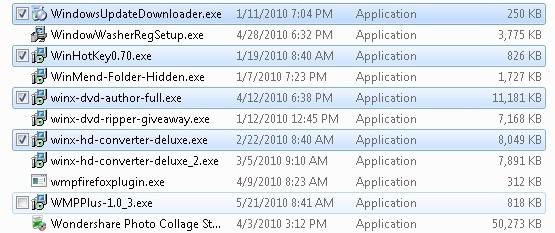 WindowsExplorerCheckbox
