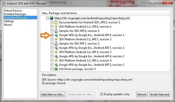 Xai thu Android 2.2 tren may tinh