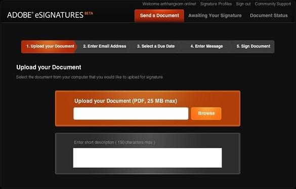 Adobe eSignature