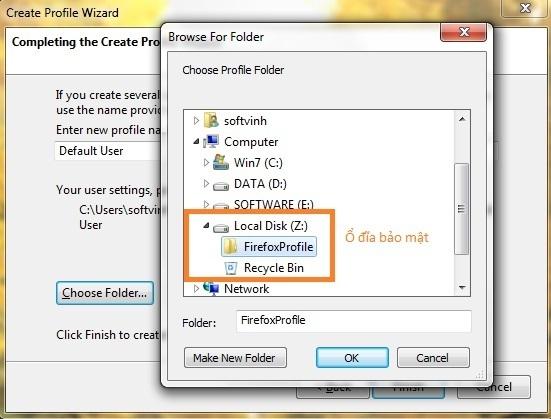 FirefoxProfile - Bao mat profile cua Firefox