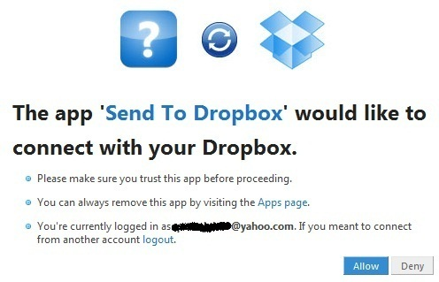SendToDropbox