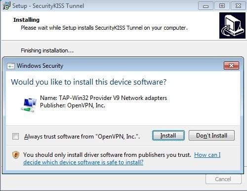 SecurityKISSTunnel
