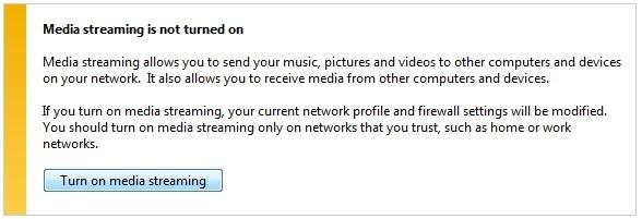 chia sẻ thư viện nhạc phim hình trong mạng nội bộ với WMP