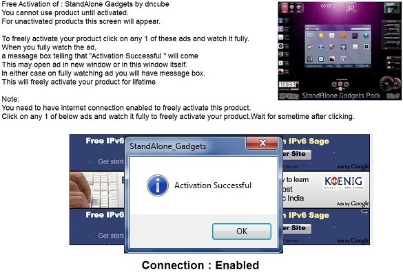 "StandAlone Gadgets Pack – Bộ Gadgets cực ""kool"" cho Windows7/Vista/XP"