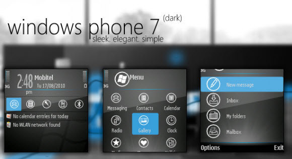 Giao diện WP7 cho Nokia Series 60