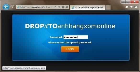 DropItToMe – Tạo trang web upload cho tài khoản Dropbox