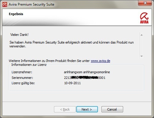 Avira Premium Security Suite