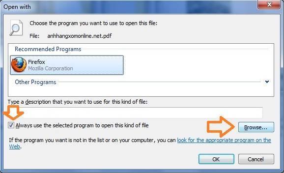 Doc file PDF bang Google Chrome