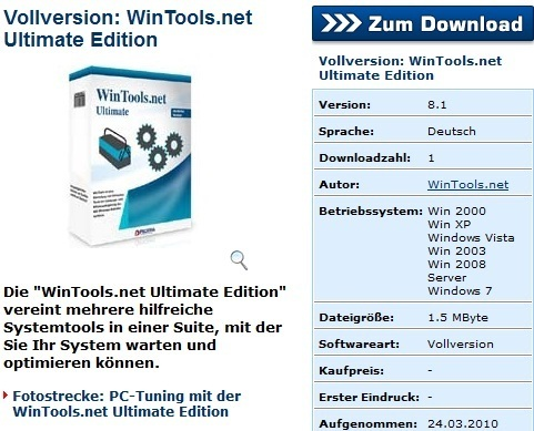WinTools.net Ultimate