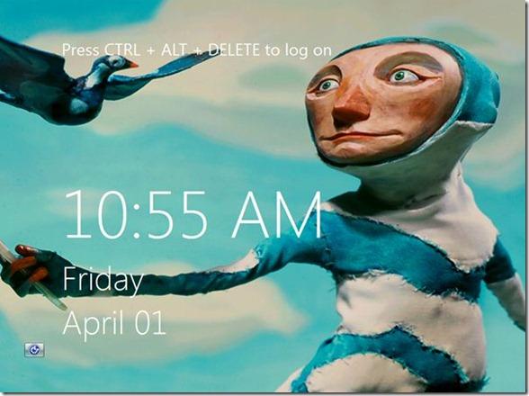 Windows 8 Logon Screen Background