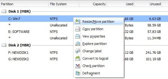 Easeus Partition Master 8 Free