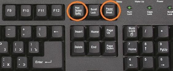Nguyên nhân khiến phím PrintScreen mất tác dụng