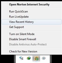 Phục hồi file bị xóa bởi Norton