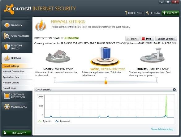 avast! Internet Security 6 - Nhận key bản quyền 9 tháng miễn phí