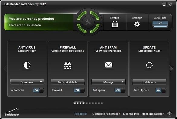 Dùng thử Bitdefender Total Security 2012 miễn phí 90 ngày
