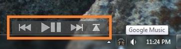 Trình phát nhạc desktop dành cho Google Music Manager