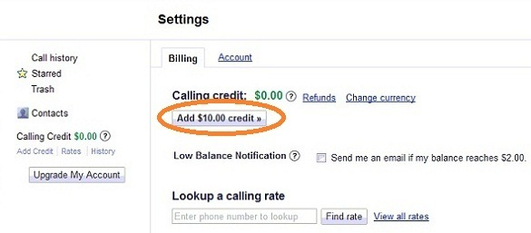 Gọi điện thoại miễn phí qua Mỹ với Google Voice