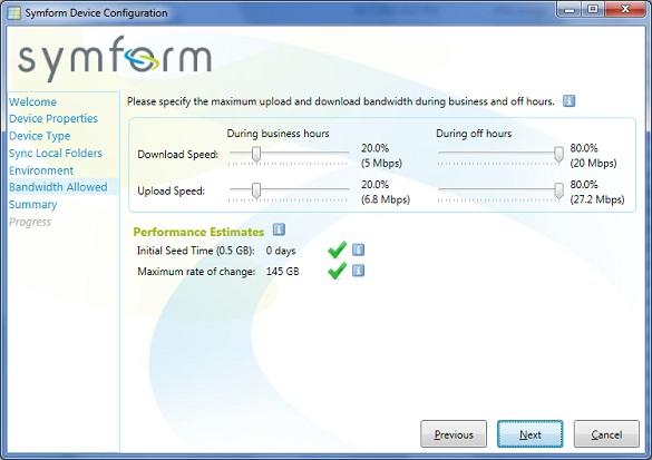 Symform - Dịch vụ sao lưu và động bộ với dung lượng 200Gb