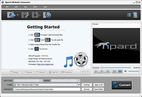 Tipard All Music Converter - Nhận key bản quyền miễn phí