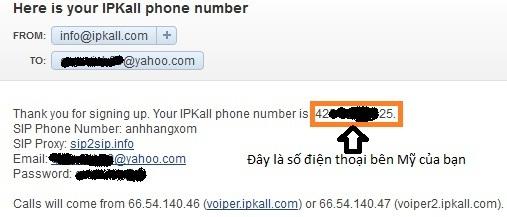 Cách lấy được số điện thoại bên Mỹ