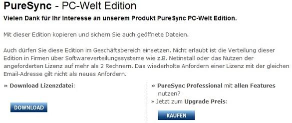 PureSync - Nhận key bản quyền miễn phí