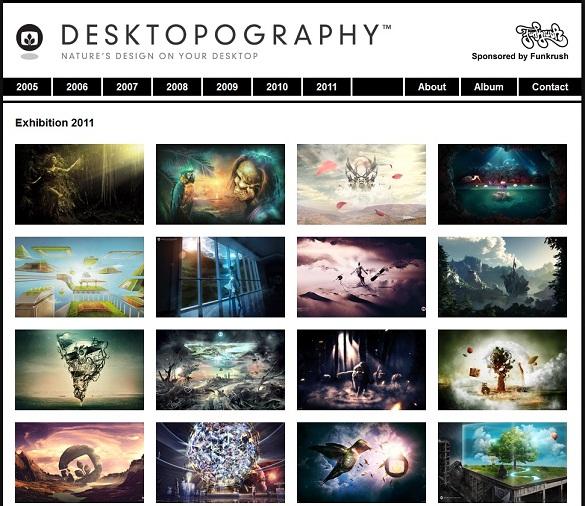 Desktopograghy - Bộ sưu tập hình nền chất lượng...cực cao theo từng năm