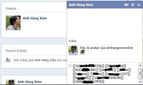 Lấy Facebook Avatar làm icon khi chat trên Facebook
