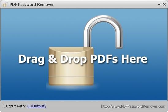 PDF Password Remover - Mở khoá tập tin PDF
