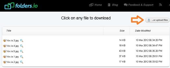 Folders.io - Dịch vụ chia sẻ file trực tiếp giữa 2 máy tính