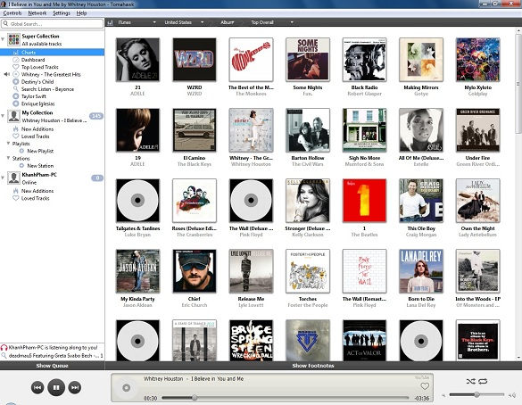 Tomahawk Music Player - The social media player of tomorrow