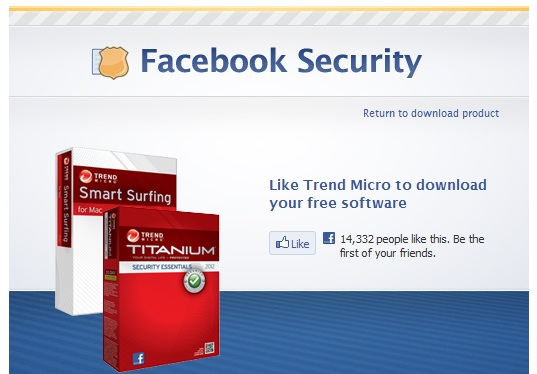 Facebook tặng key bản quyền 6 tháng các phần mềm diệt virus