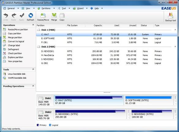 EaseUS Partition Master Professional 9.2.1 - Nhận key bản quyền miễn phí phần mềm chia đĩa miễn phí