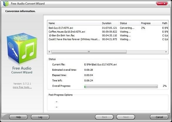 FreeAudioVideoSoft – Kho phần mềm chuyển đổi âm thanh/phim ảnh miễn phí