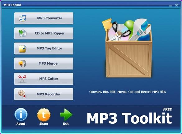 Mp3 Toolkit-Trọn bộ công cụ xử lý nhạc