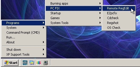 Chỉnh sửa Registry khi không vào được Windows