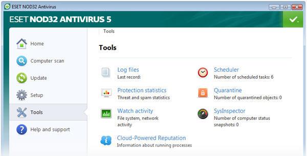 ESET NOD32 Antivirus 5 - Nhận key bản quyền 6 tháng miễn phí
