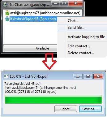 TorChat - Phần mềm chat bảo mật, đơn giản và tiện lợi