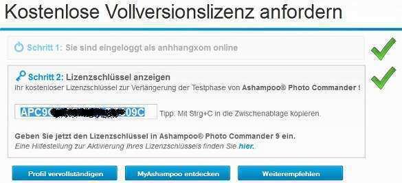 Ashampoo Photo Commander 9 - Nhận key bản quyền miễn phí