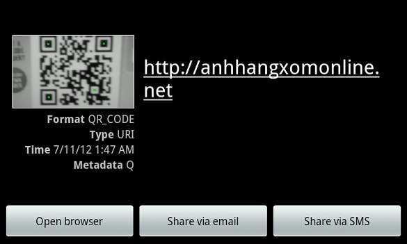 Kaywa QR Code Generator - Chuyển thông tin vào điện thoại nhanh chóng