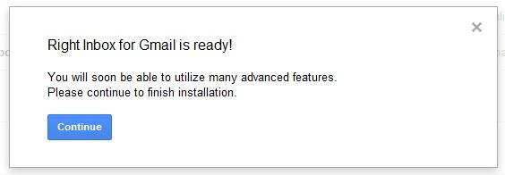 Right Inbox for Gmail - Bạn sẽ biết ngay nếu email bạn gửi đã được đọc !