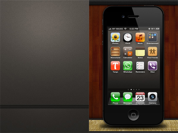 iPhone 4 Texture Wallpaper
