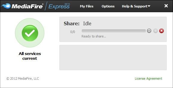 MediaFire Express - Công cụ upload nhanh dữ liệu lên Mediafire
