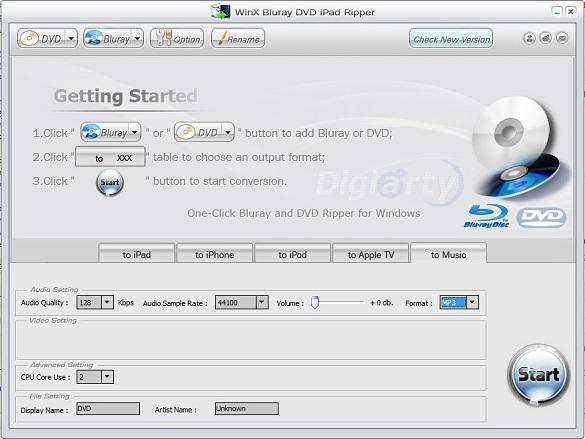 WinX Bluray DVD iPad Ripper - Nhận key bản quyền miễn phí